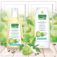 Rausch Sydänsiemen shamp/hoitoaine näyte 12,5ml+15ml