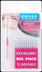 Ekulf hammasväliharja ph ABC 0,4 violetti  X12 kpl