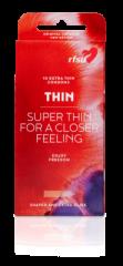 Thin kondomi, ohut muotoiltu X10 kpl