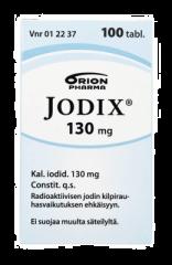 JODIX 130 mg tabl 100 kpl