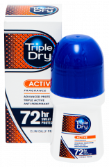 TRIPLE DRY MENS ACTIVE FRAGRAN ROLL-ON 50 ML