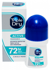 TRIPLE DRY WOMEN ACTIVE ROLL-ON 72H ANTIPERSP. TUOKSU 50 ML